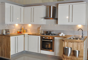 White Kitchen Units With Grey Worktop fine white kitchen units wood worktop with wooden worktops l on