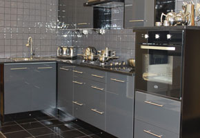 Kitchens Wolverhampton Cheap Kitchens Wolverhampton Kitchen - Gloss grey kitchen units